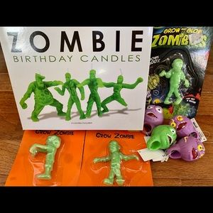 Other - NEW Zombie Candles and Party Prizes Bundle